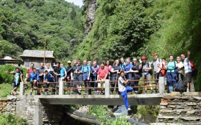 Mary Hare School Trip to Nepal in July 2017