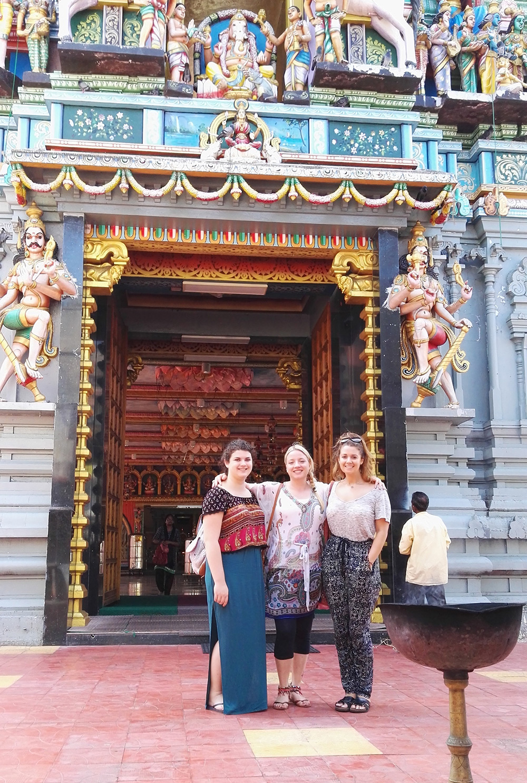 Laura Robinson in Sri Lanka with VoluntEars