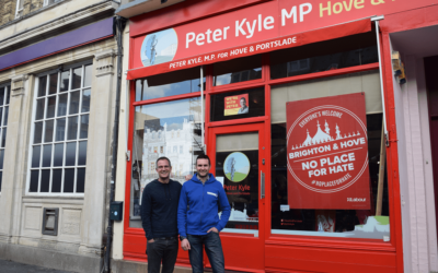 Peter Kyle, MP, supports VoluntEars