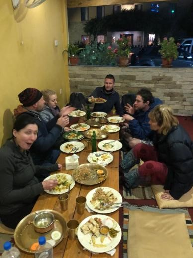 VoluntEars arranges dinner in local restaurants every night