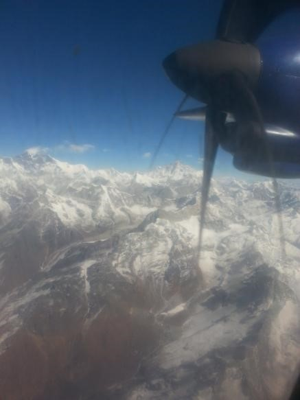 Optional flight to see Sagarmatha (Mount Everest). Once in a lifetime!